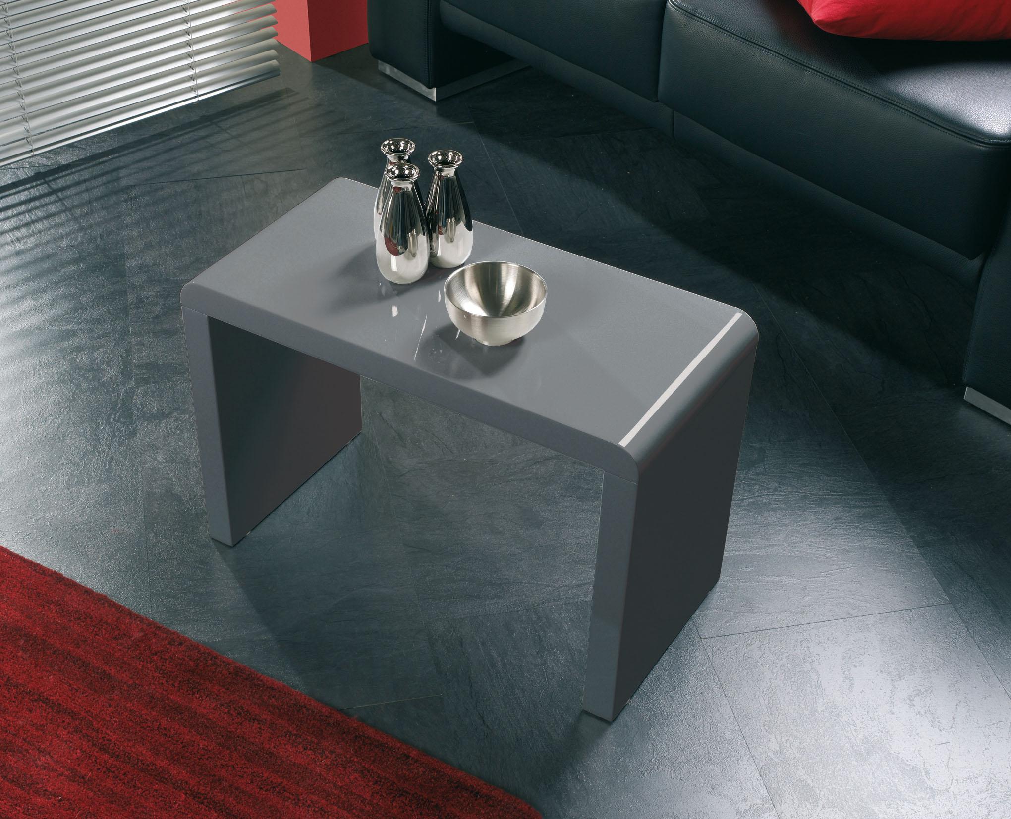 Beistelltisch Couchtisch Tisch Wohnzimmertisch Konsole Mod T148 Grau