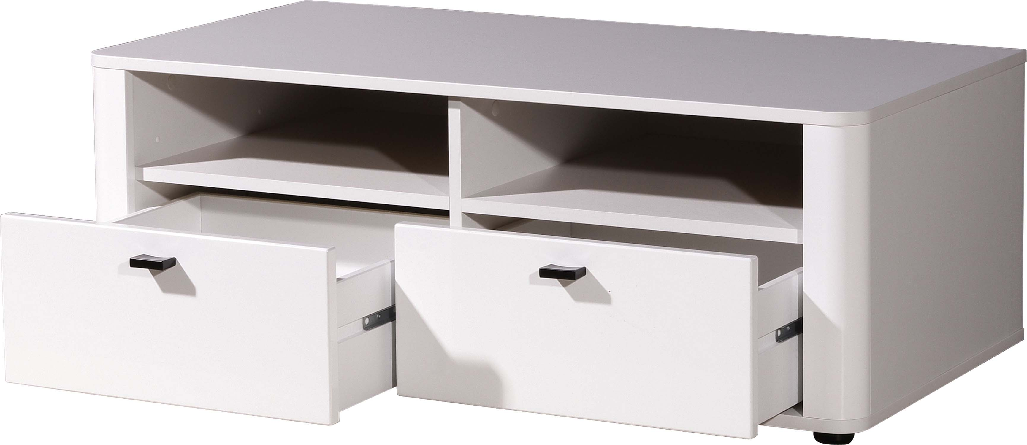 4tlg wohnwand anbauwand vitrine tv lowboard wandboard mod. Black Bedroom Furniture Sets. Home Design Ideas