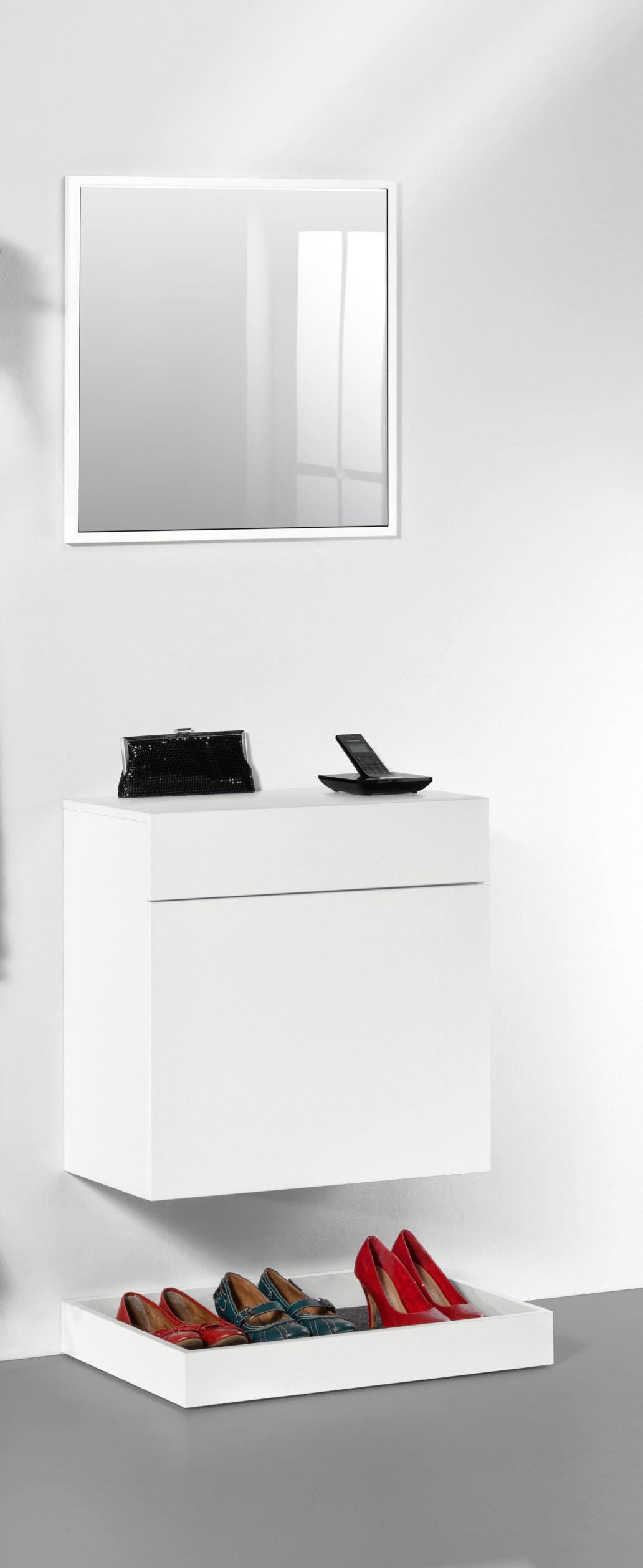 wandgarderobe h ngeschrank schuhschrank garderobenset paneel sonoma eiche weiss ebay. Black Bedroom Furniture Sets. Home Design Ideas