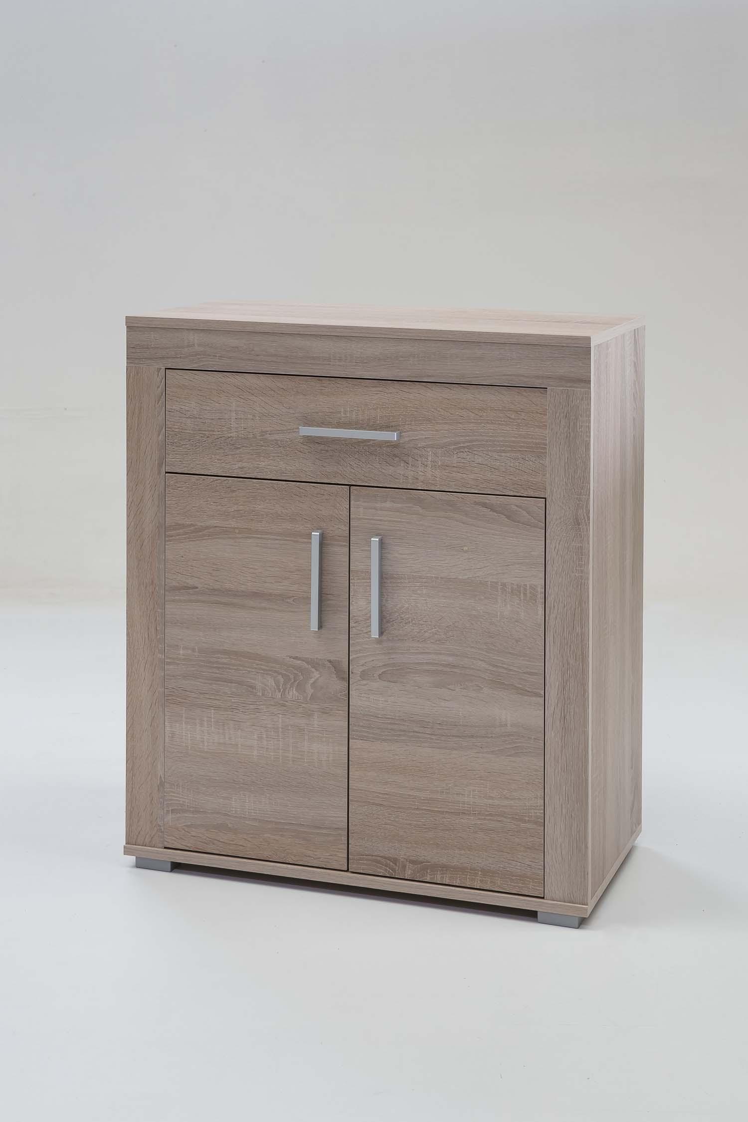 schuhschrank garderobe spiegel flurset garderobenset diele wei eiche tr ffel ebay. Black Bedroom Furniture Sets. Home Design Ideas