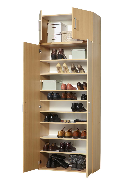 schuhschrank mehrzweckschrank schrank 2 t rig 4 t rig buche weiss ca 24 paar ebay. Black Bedroom Furniture Sets. Home Design Ideas