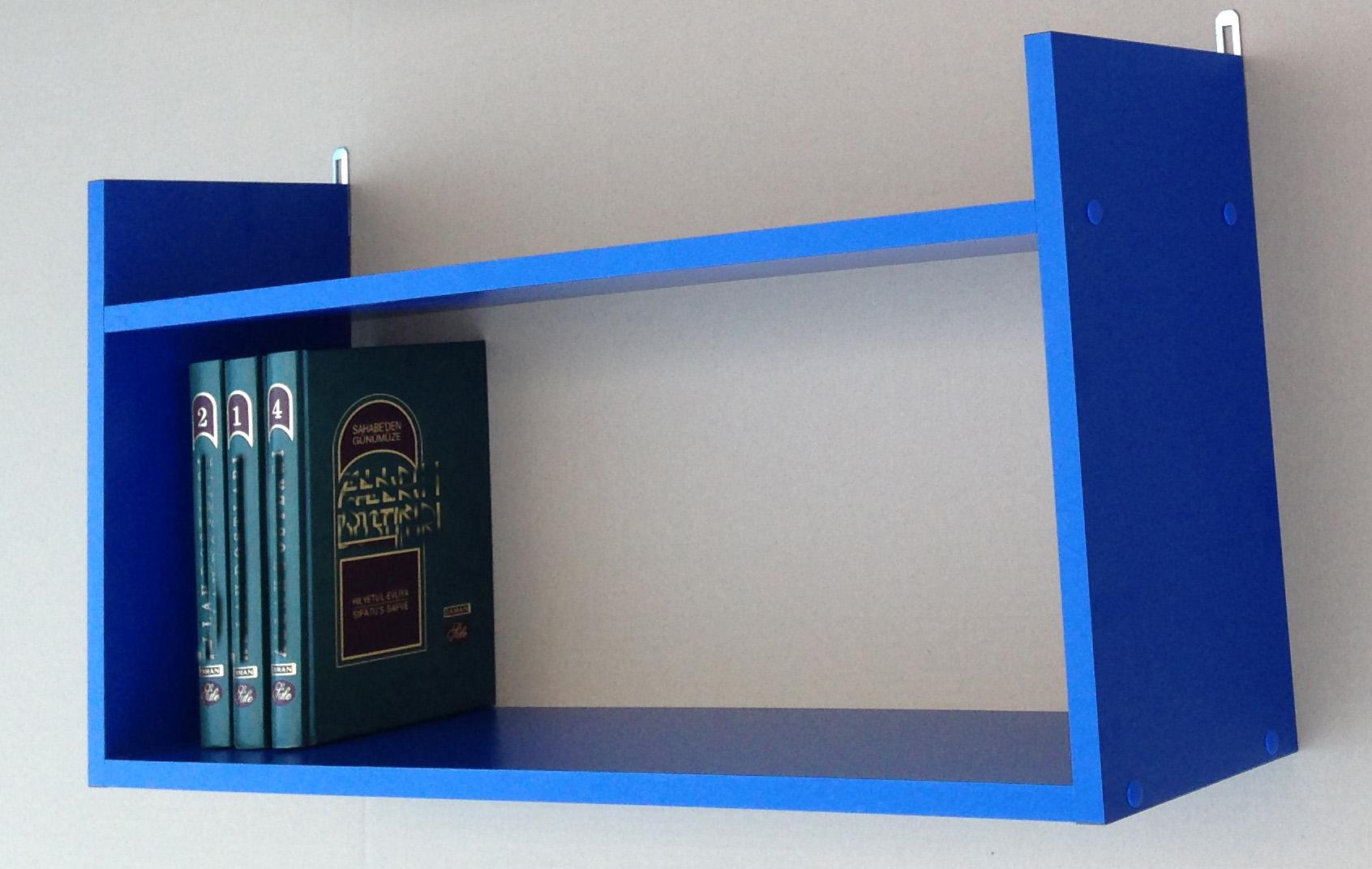 wandregal b cherregal kinderregal regal mod r463 blau ahorn nussbaum ebay. Black Bedroom Furniture Sets. Home Design Ideas