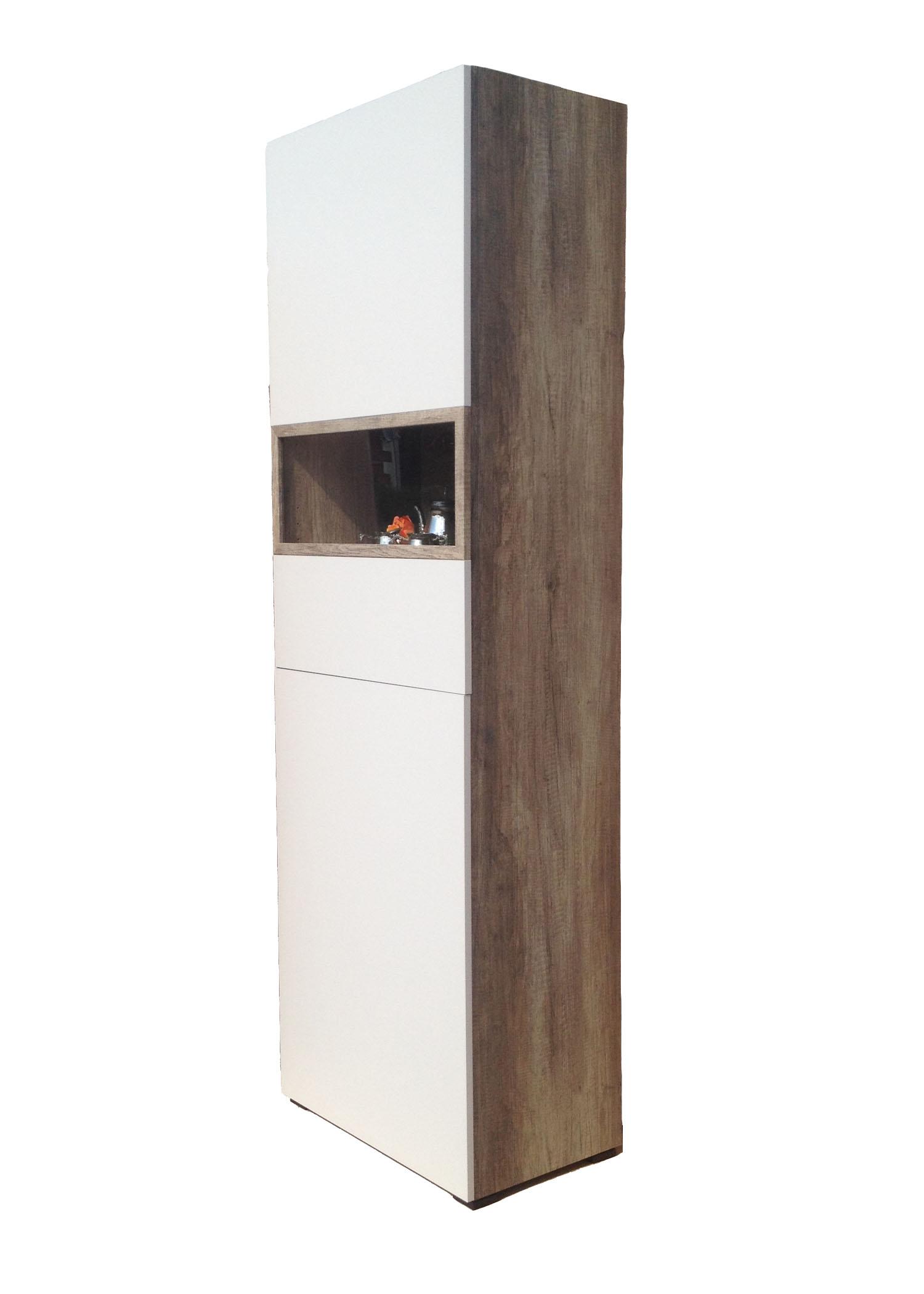 vitrine standvitrine aktenschrank mehrzweckschrank v752 wildeiche sand cs schmal ebay. Black Bedroom Furniture Sets. Home Design Ideas