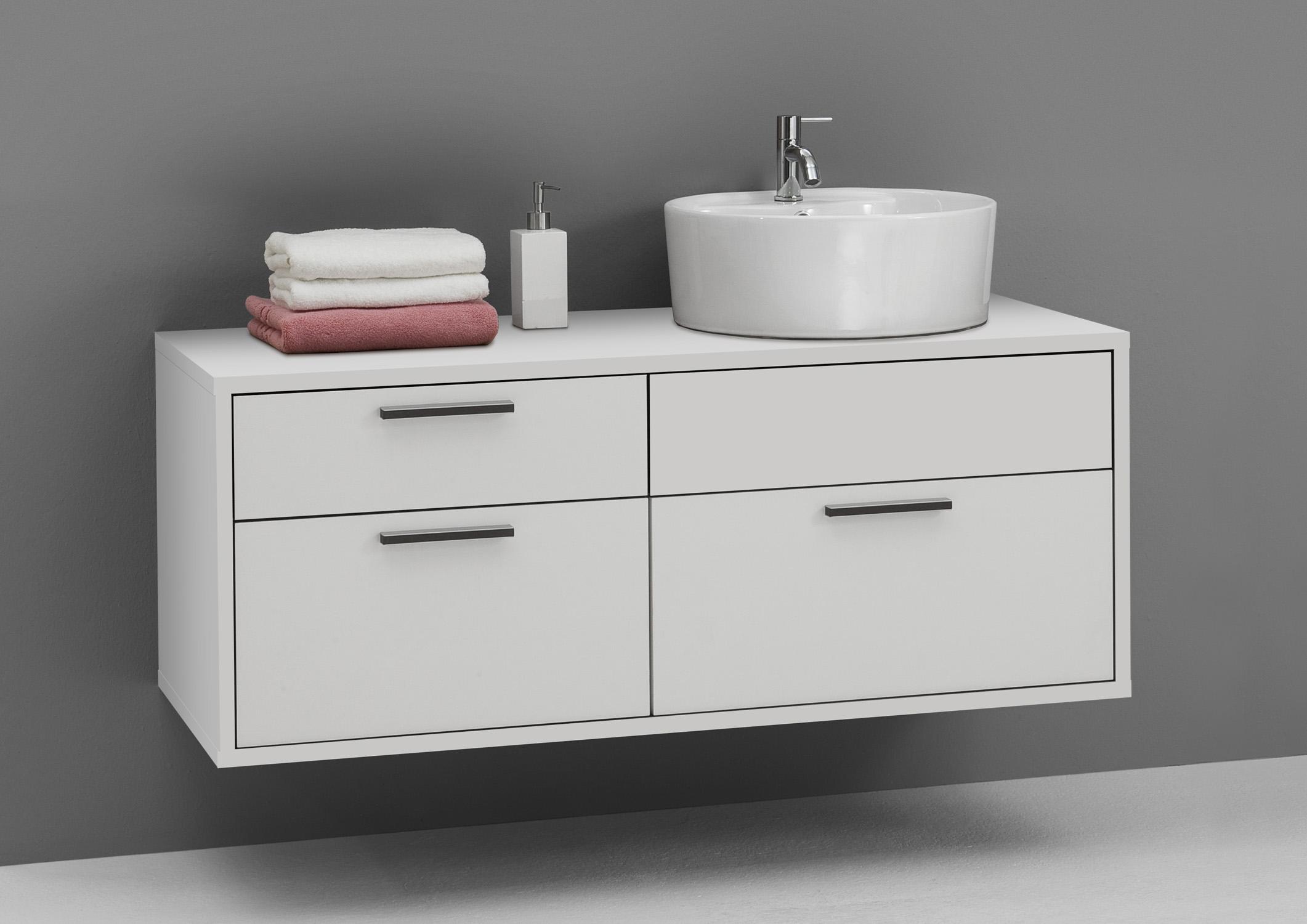 waschtisch waschbeckenunterschrank badschrank h ngeschrank badm bel schrank wei ebay. Black Bedroom Furniture Sets. Home Design Ideas