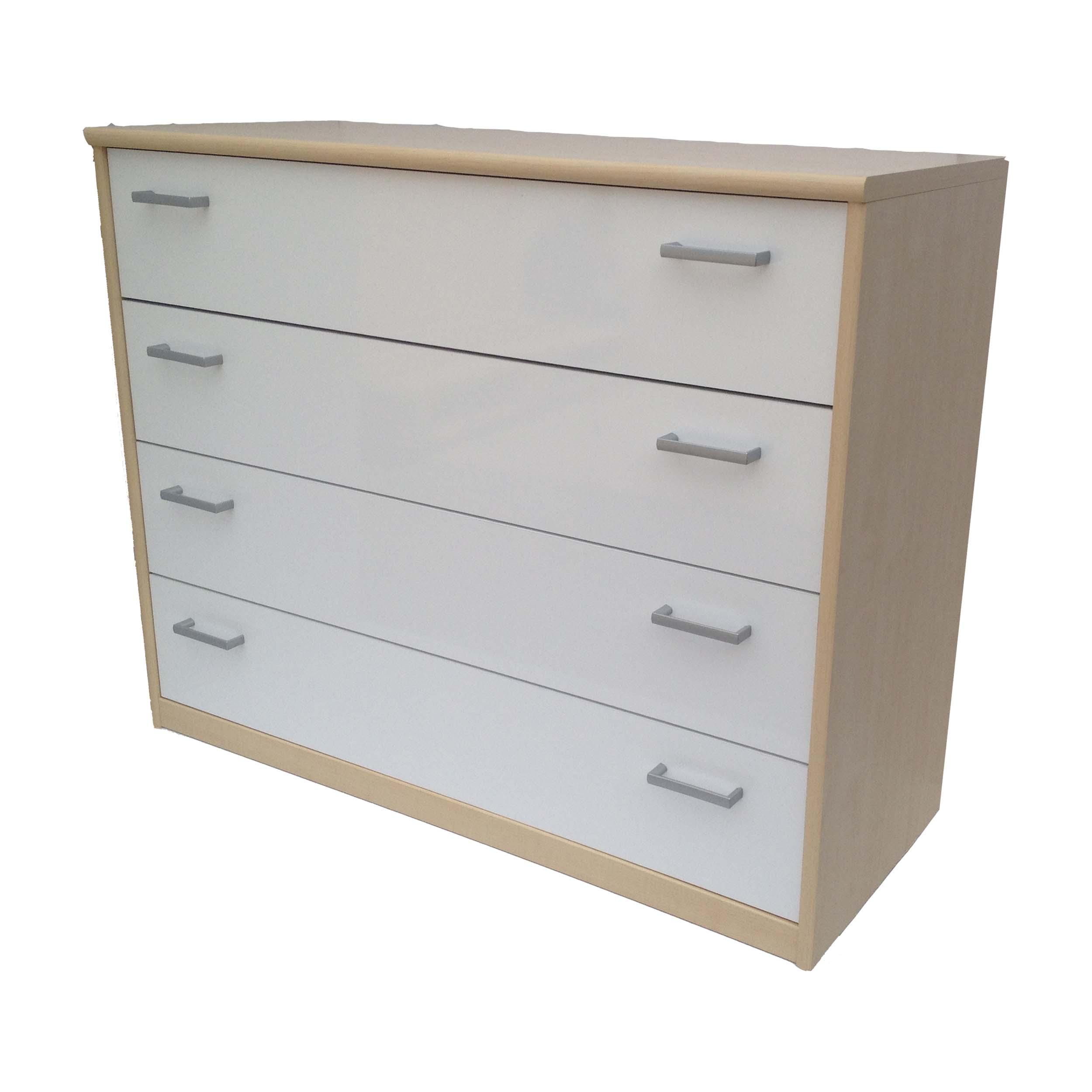 kommode highboard schubladenkommode anrichte 4 schub ahorn. Black Bedroom Furniture Sets. Home Design Ideas