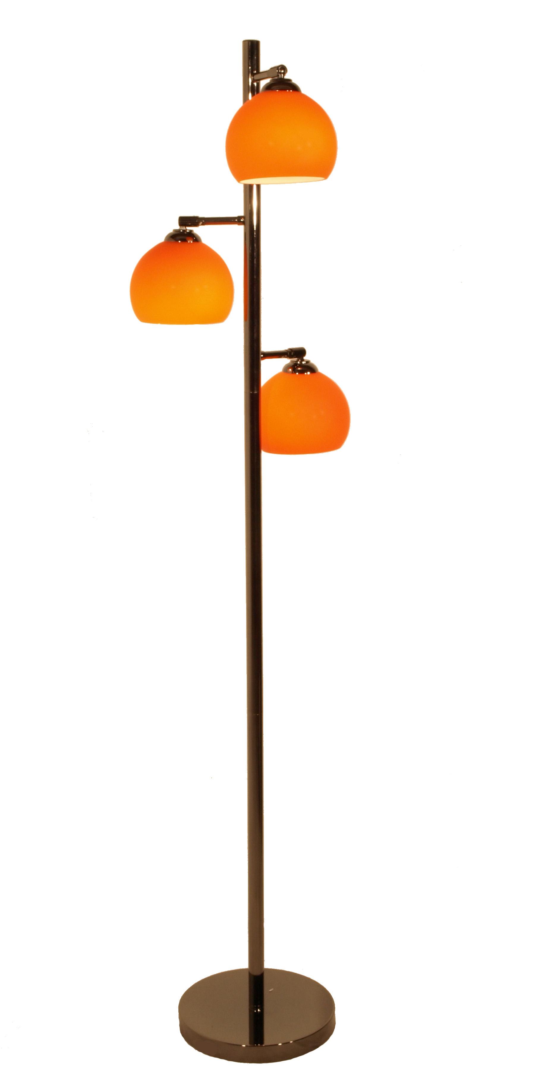 design stehleuchte stehlampe orange ebay. Black Bedroom Furniture Sets. Home Design Ideas