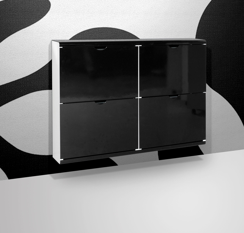 schuhschrank schuhe metallschrank h ngeschuhschrank schwarz lila metall ebay. Black Bedroom Furniture Sets. Home Design Ideas