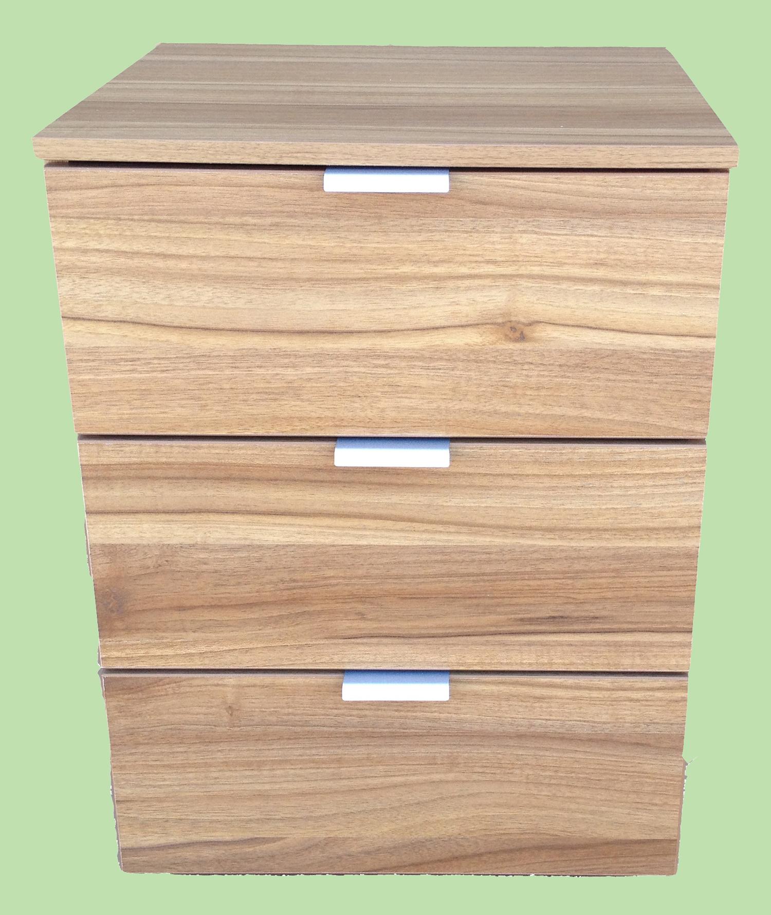 nachtkommode boxspring nachtkonsole kommode schlafzimmer mooreiche grau walnuss ebay. Black Bedroom Furniture Sets. Home Design Ideas