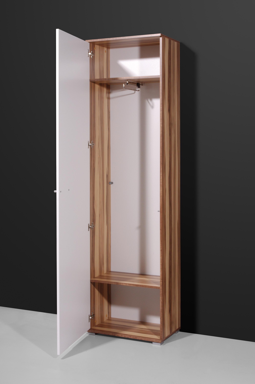 flur garderobenschrank kleiderschrank schrank baltimore anthrazit weiss ebay. Black Bedroom Furniture Sets. Home Design Ideas
