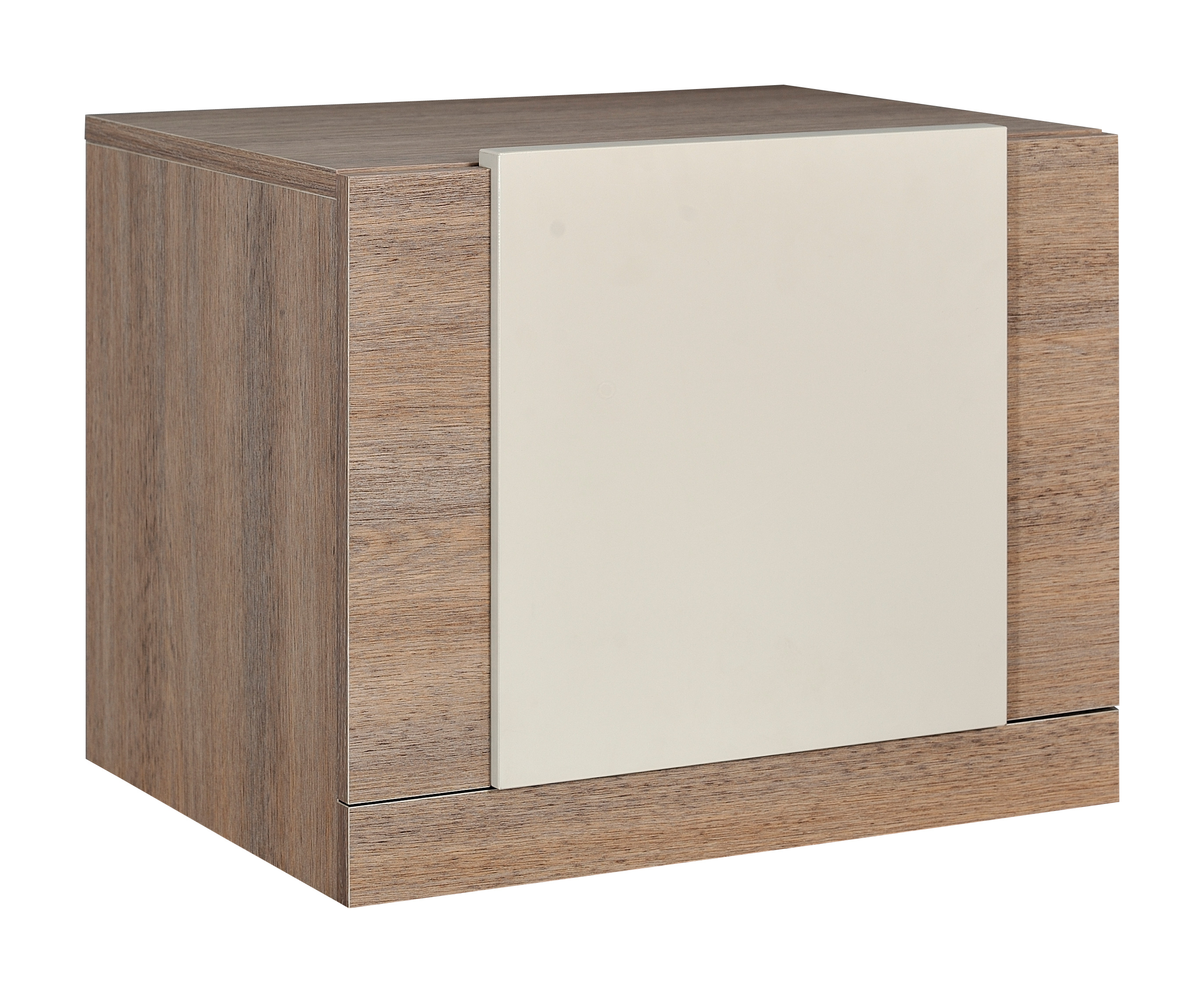 Nachtkommode Nachtschrank Highboard Kommode Schlafzimmer Spiegel Eiche Creme  eBay