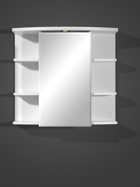badspiegelschrank spiegelschrank badschrank m beleuchtung steckdose so223 wei ebay. Black Bedroom Furniture Sets. Home Design Ideas