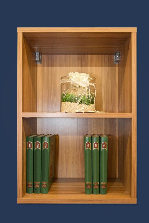 wandregal h ngeregal b cherregal regal mod r422 walnuss nussbaum ebay. Black Bedroom Furniture Sets. Home Design Ideas