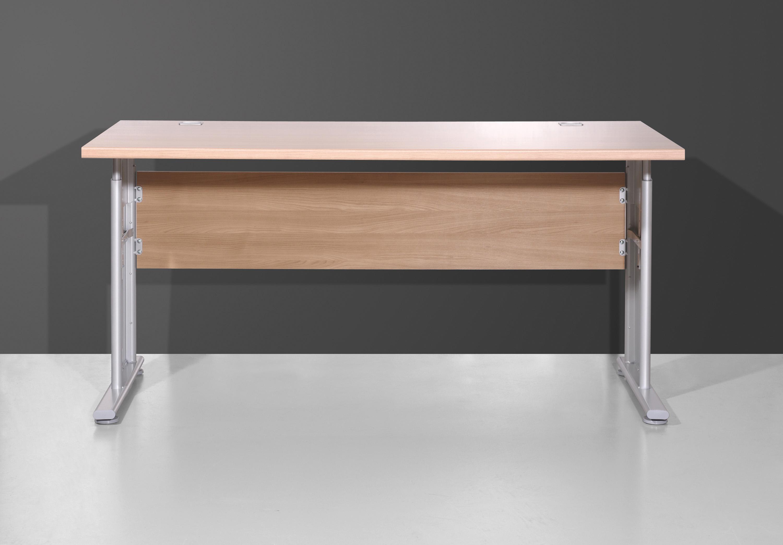 schreibtisch arbeitstisch b rotisch tisch h henverstellbar t181 nussbaum royal ebay. Black Bedroom Furniture Sets. Home Design Ideas