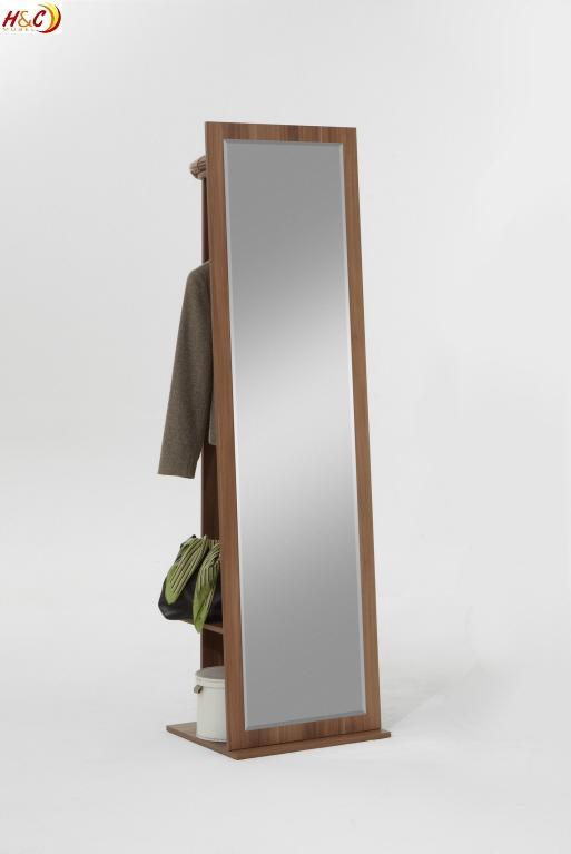 Garderobe Mit Spiegel garderobe garderobenschrank schrank mit spiegel g124 nussbaum