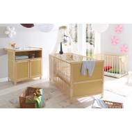 Babyzimmer möbel natur  Qualitätsmöbel für Ihr Babyzimmer - H&C Möbel