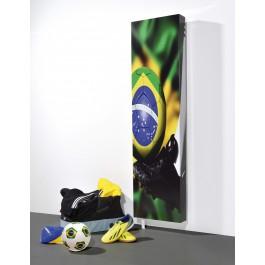 Drehbarer Schuhschrank Mehrzweckschrank Motiv Brazil