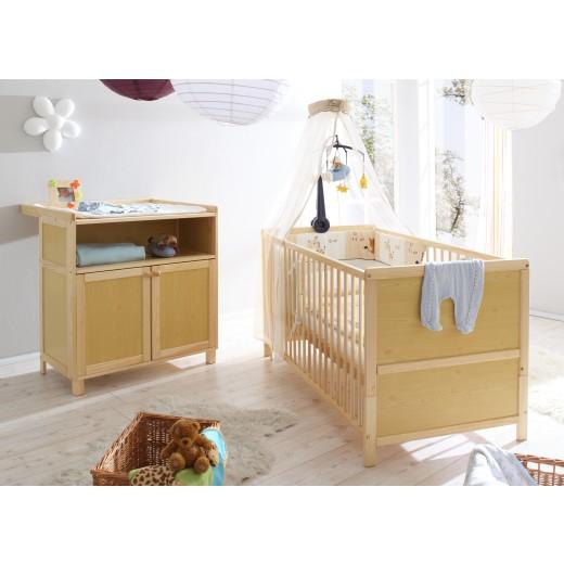 Babyzimmer 2-teilig Mod.836229 Kiefer Natur