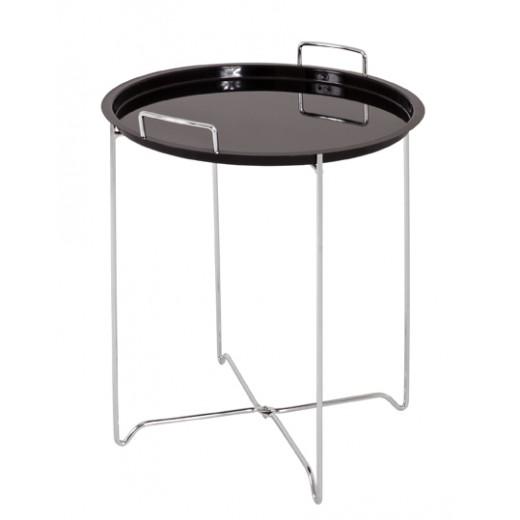 Beistelltisch Tablettisch Tisch Schwarz T219_S