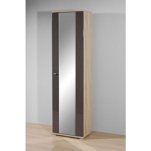 garderobenschrank mod gm832 sonoma eiche graphit. Black Bedroom Furniture Sets. Home Design Ideas
