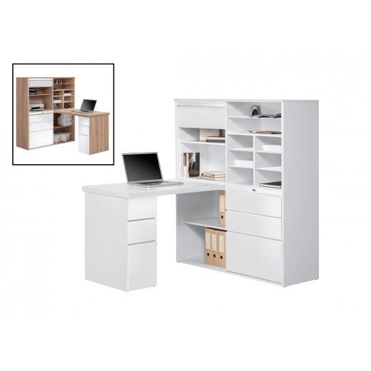 Buroschrank Mit Integriertem Schreibtisch