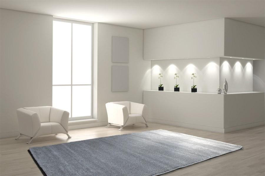 teppich 160 x 230 cm grau h c m bel. Black Bedroom Furniture Sets. Home Design Ideas