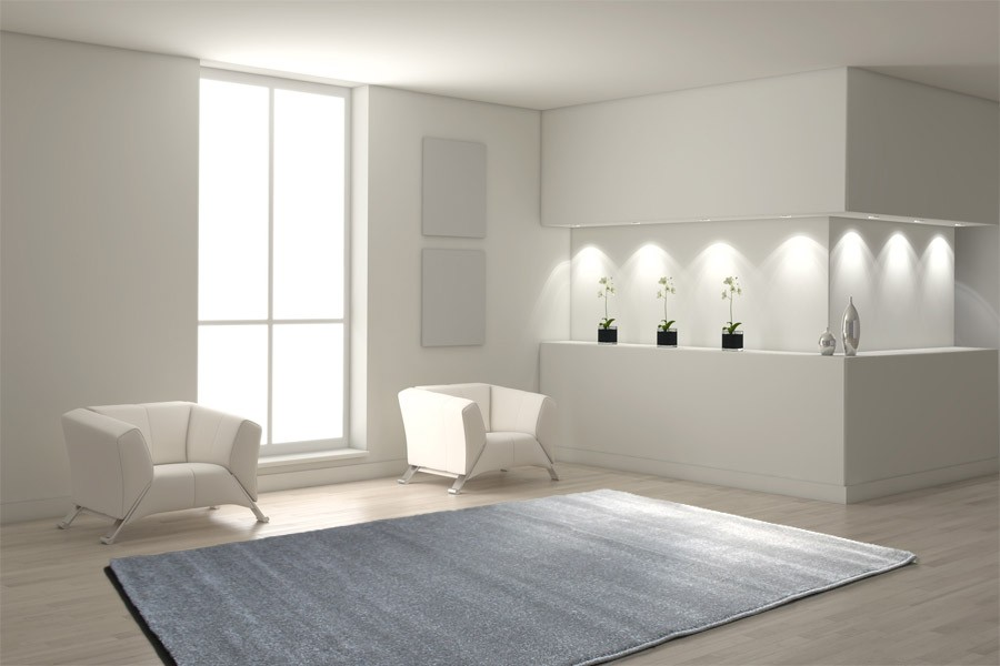 teppich 200 x 290 cm grau h c m bel. Black Bedroom Furniture Sets. Home Design Ideas