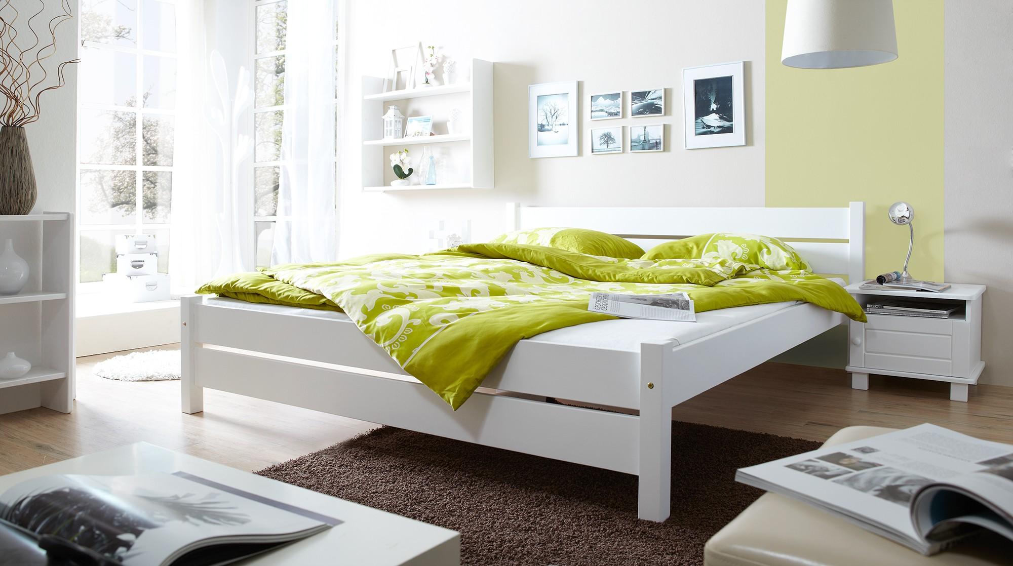 Amüsant Doppelbett Weiß 180x200 Foto Von Mod.857552 Kiefer Weiss