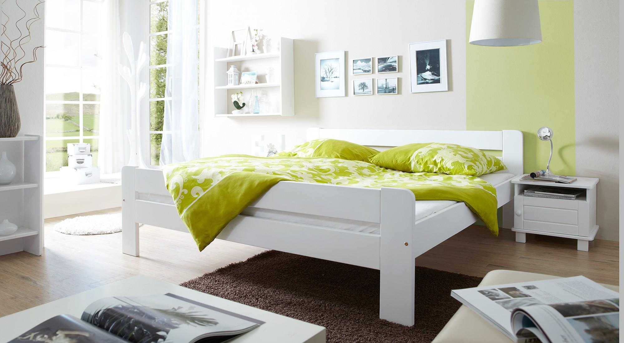 Wunderbar Einzelbett Weiß Das Beste Von 140x200 Mod.857668 Kiefer Weiss