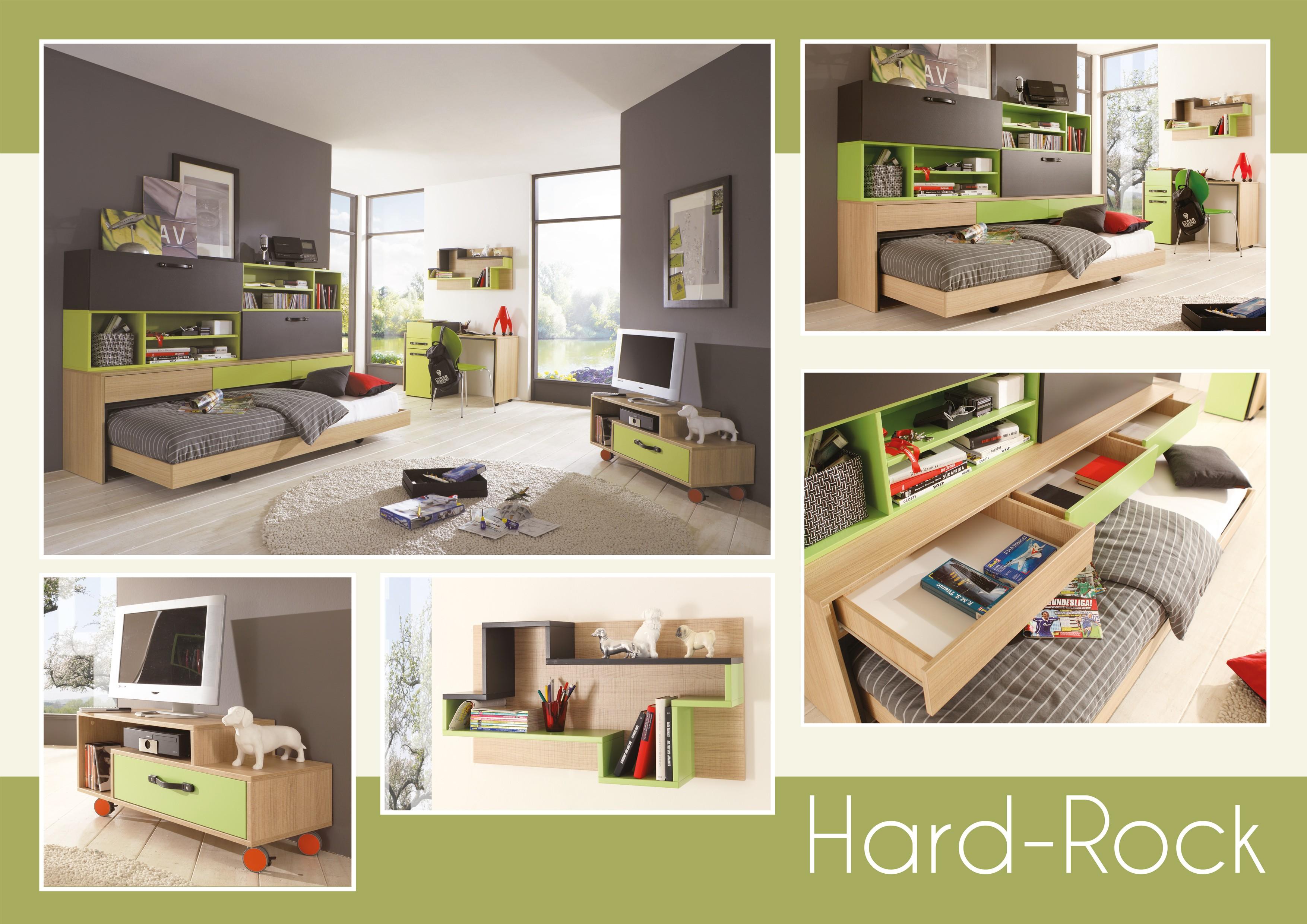 Jugendzimmer für jungs grün  Kinder- & Jugendzimmer - Schlafen - H&C Möbel