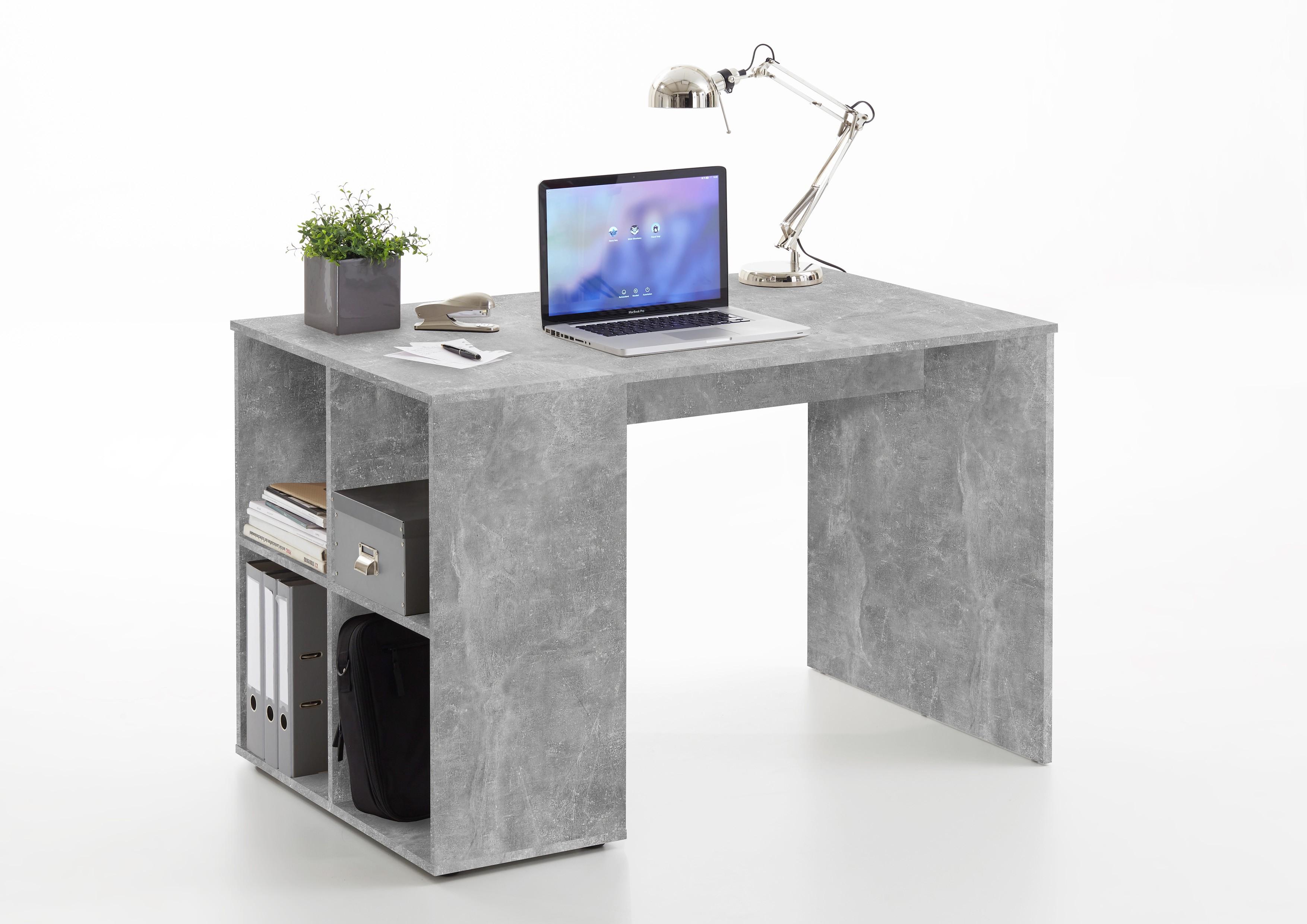 Favorit Schreibtisch Mod.F366-001 Beton - H&C Möbel HJ37