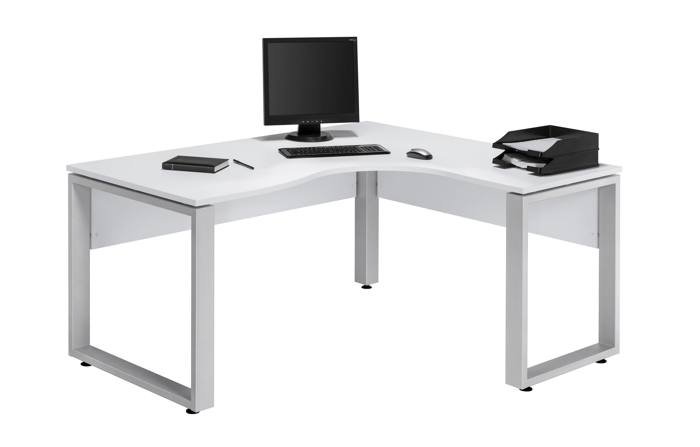 Eckschreibtisch Weiß 140 X 160 Cm T216w Hc Möbel