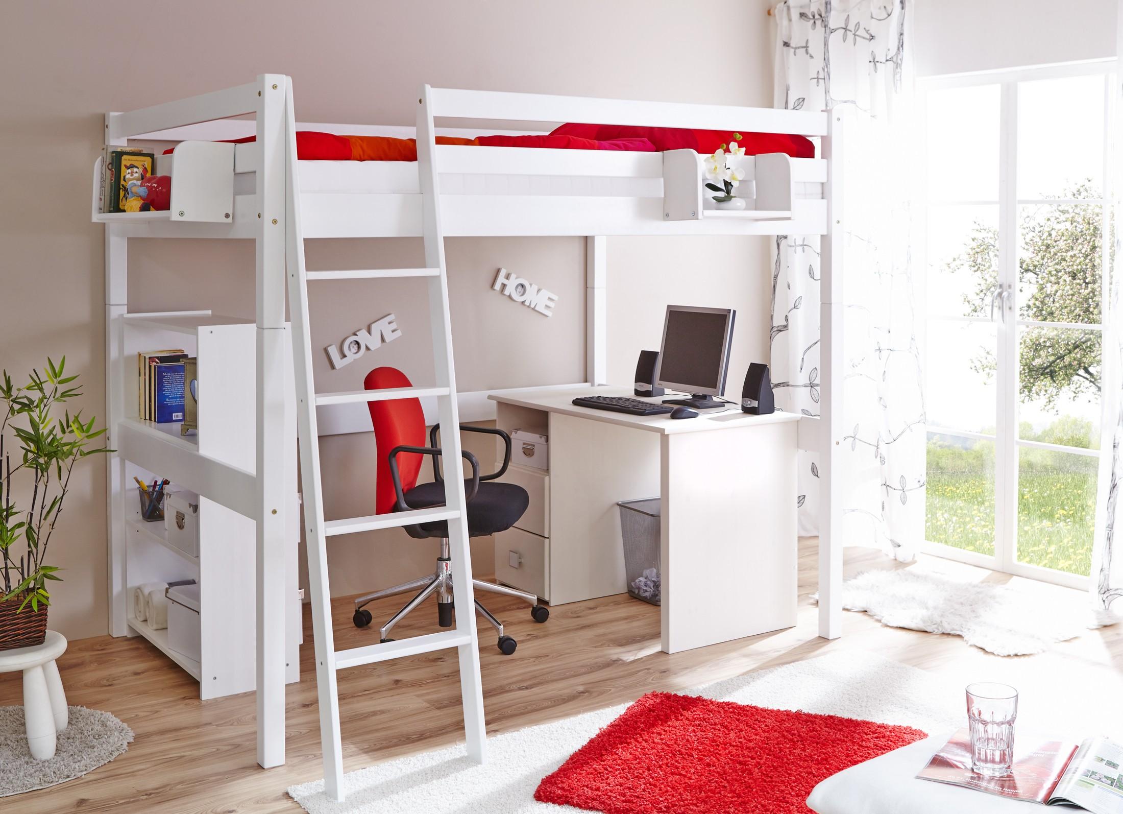 Etagenbett Buche Weiß : Etagenbett massivholz erwachsene etagenbetten eiche