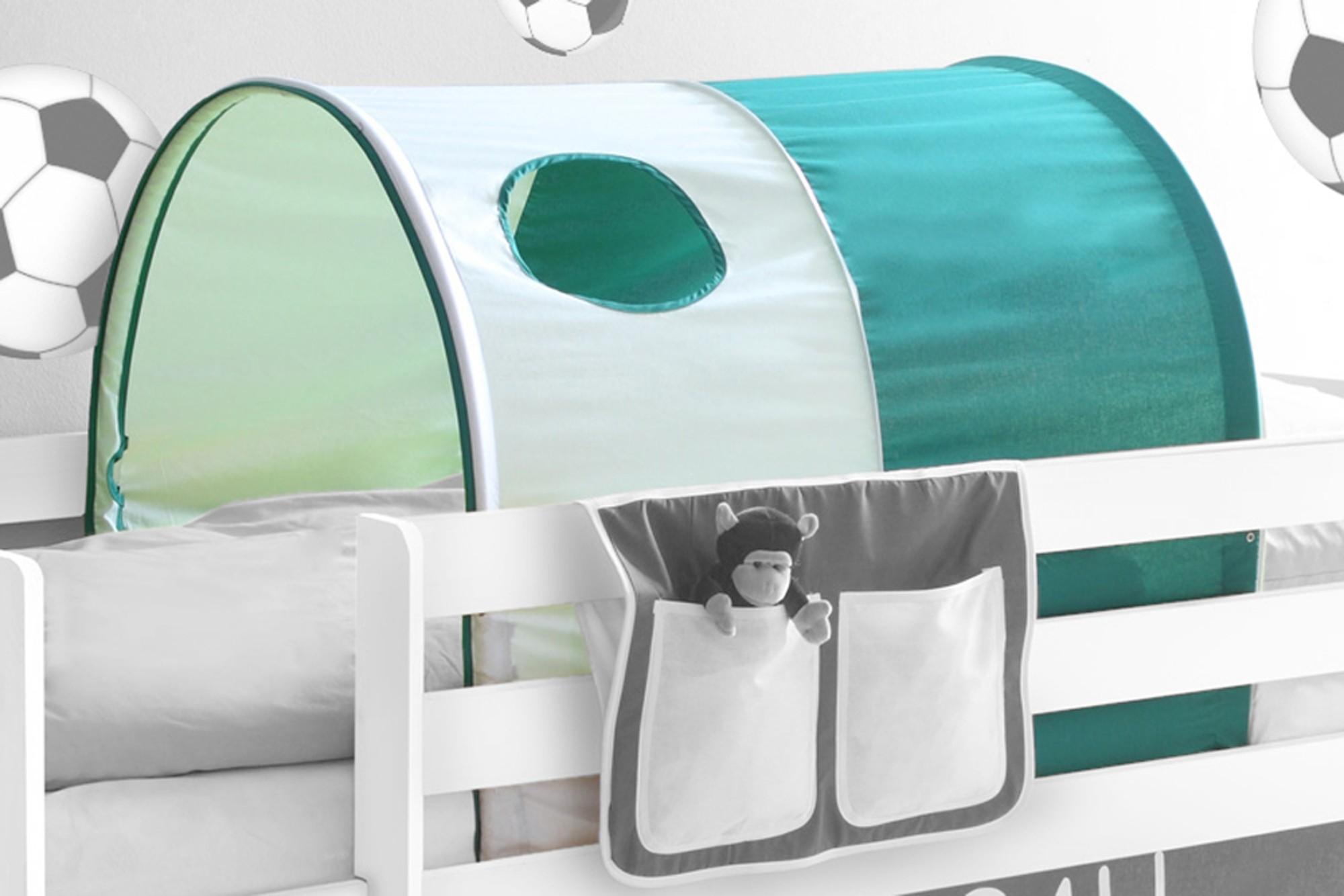 Tunnel Set Etagenbett : Tunnel für hoch und etagenbetten mod blau rot h c möbel