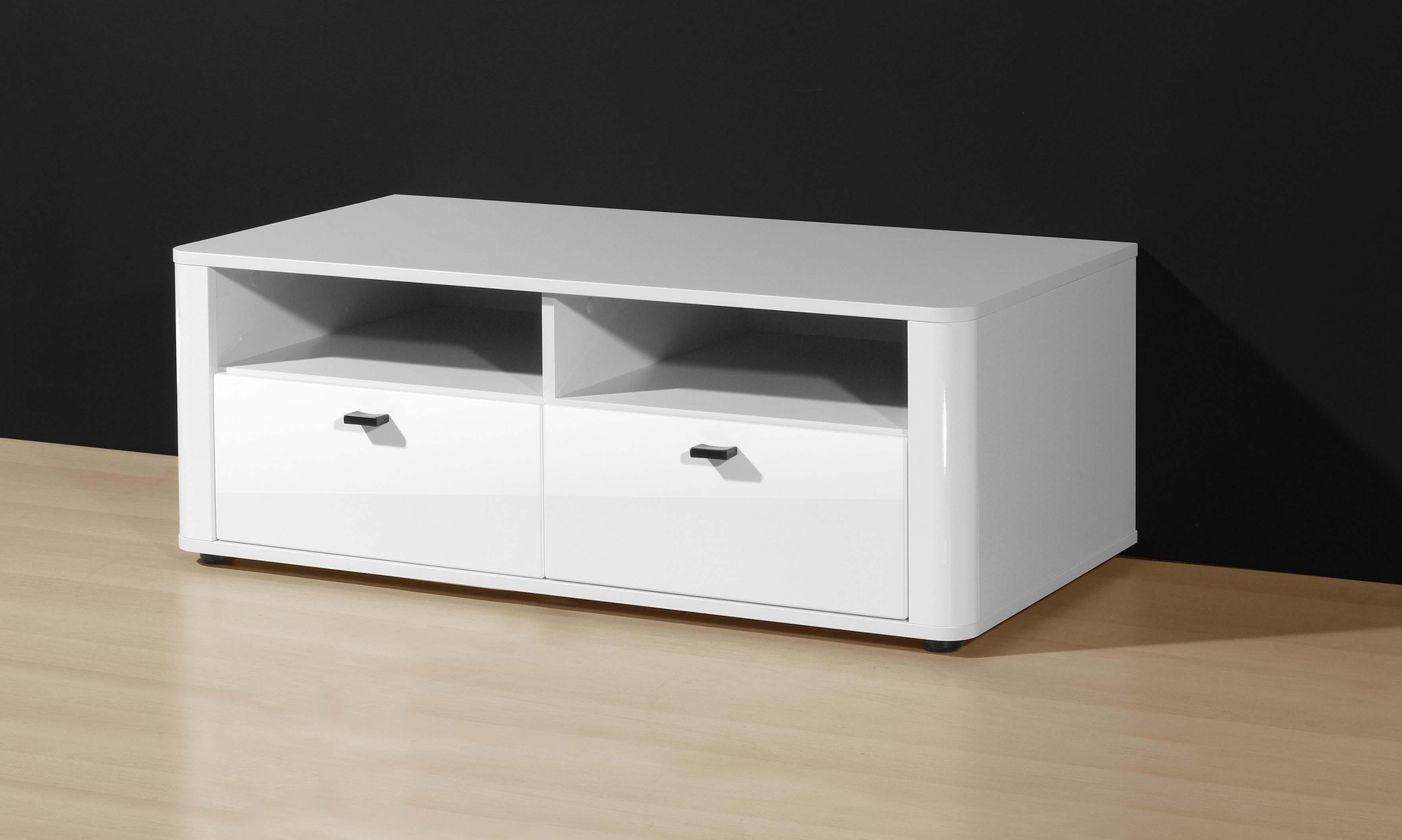 tv ablage lowboard mod tv656 weiss hochglanz h c m bel. Black Bedroom Furniture Sets. Home Design Ideas