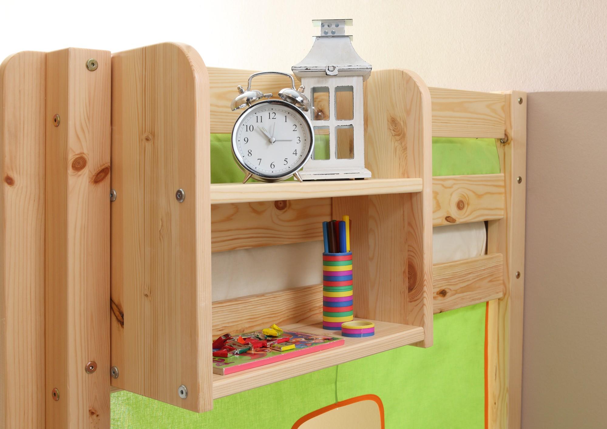 Etagenbett Klein : Einhängeregal für hoch und etagenbett klein mod.805997 kiefer weiss