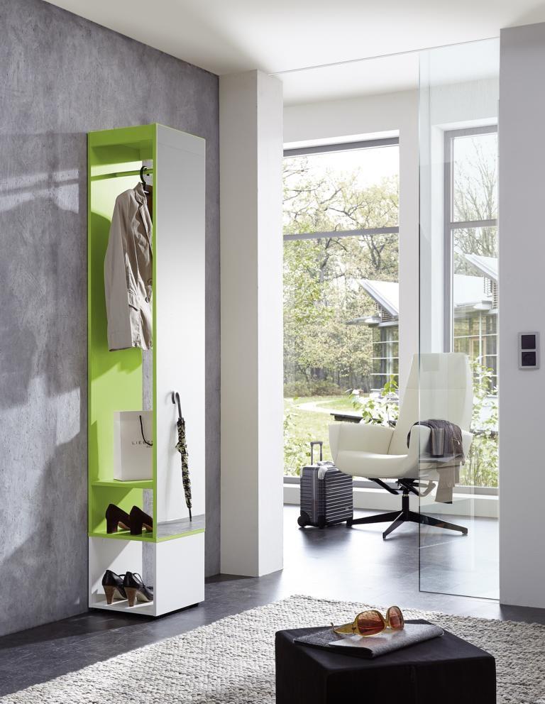 Garderobe Mit Spiegel garderobe mit spiegel mod gm747 weiss grün h c möbel