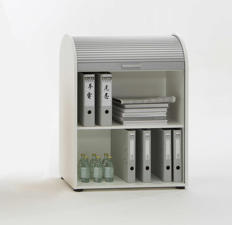 Rolladenschrank Mod.F292-011 Weiß - H&C Möbel
