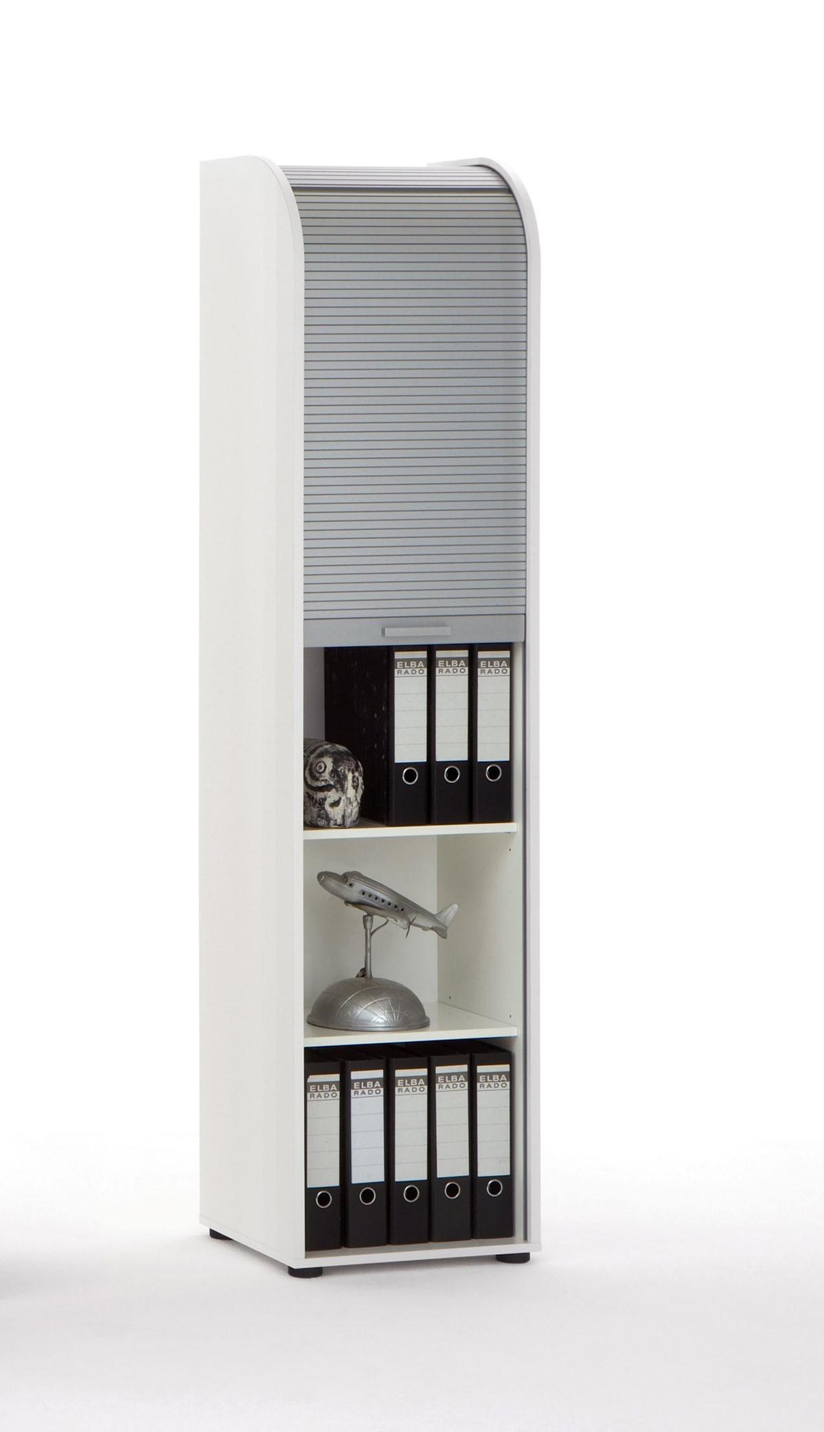 Rolladenschrank Mod.F.292-033 Weiß - H&C Möbel