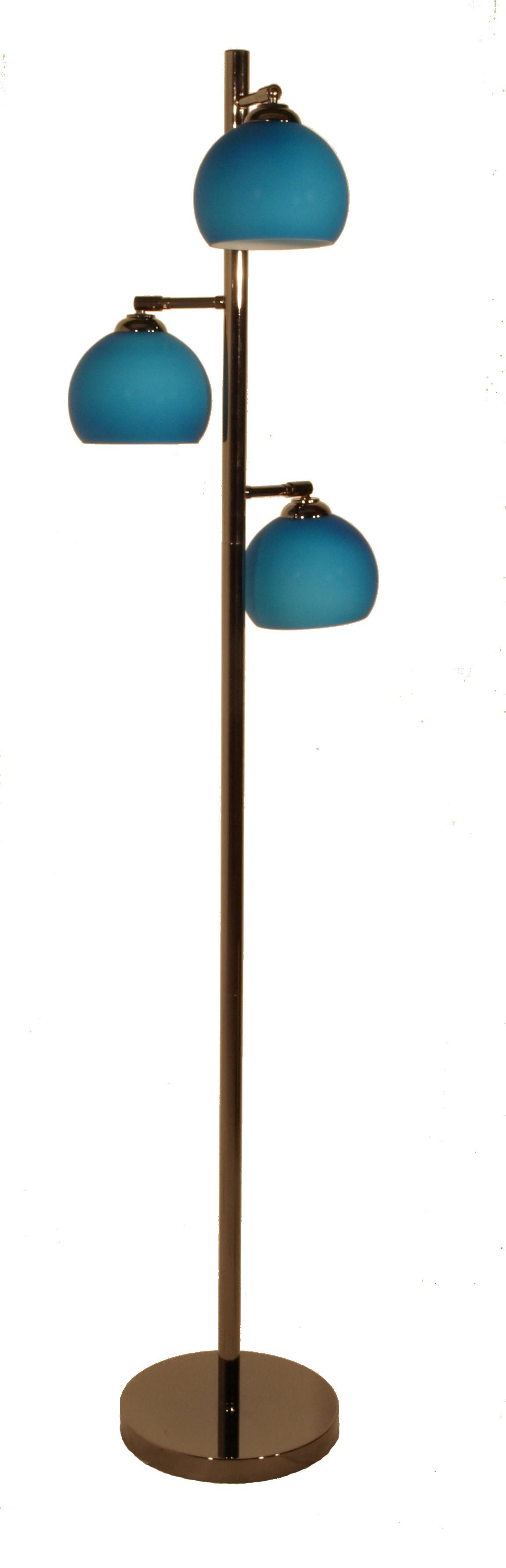 stehlampe mod ball floor blau h c m bel. Black Bedroom Furniture Sets. Home Design Ideas