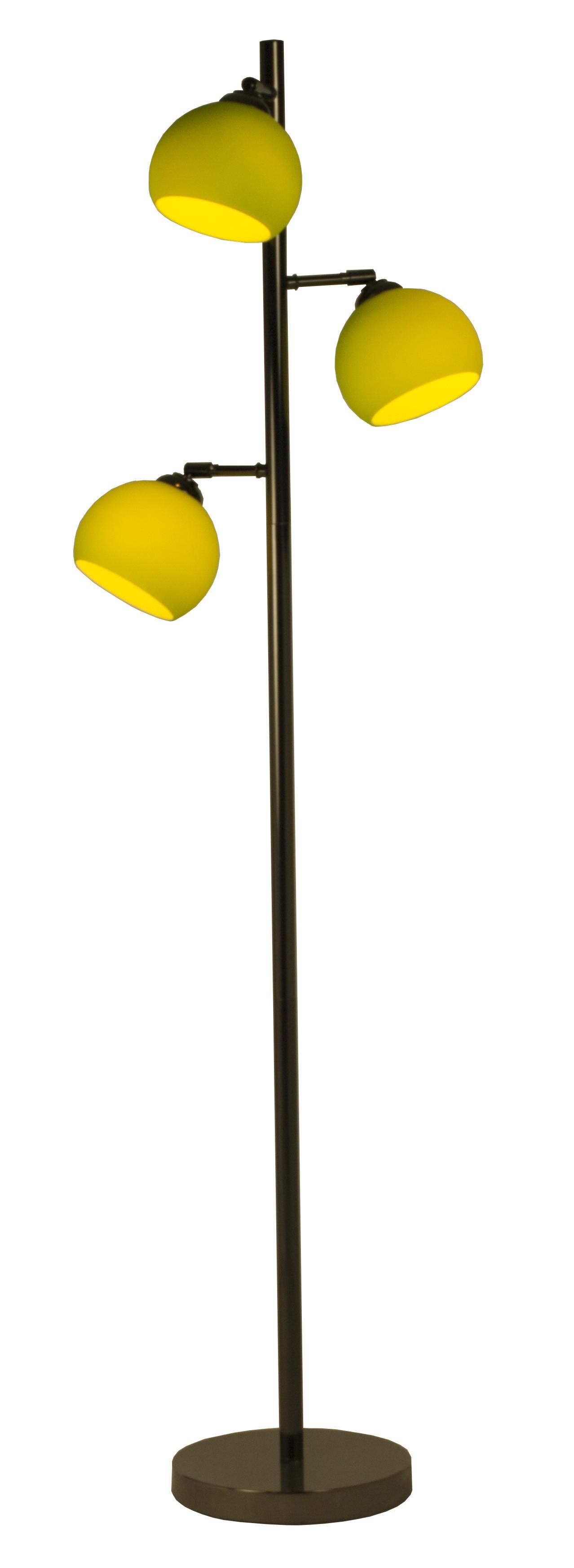 stehlampe mod ball floor gr n h c m bel. Black Bedroom Furniture Sets. Home Design Ideas