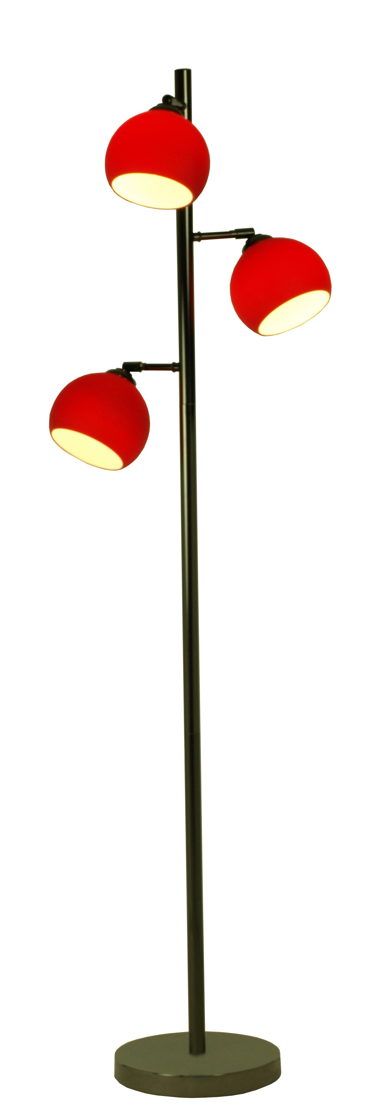 stehlampe mod ball floor rot h c m bel. Black Bedroom Furniture Sets. Home Design Ideas