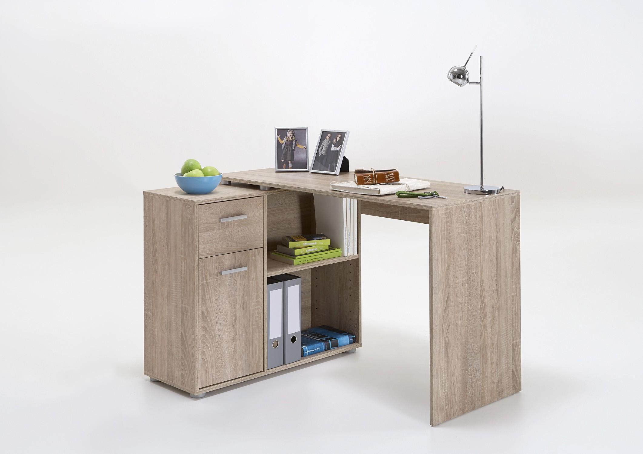 winkel schreibtisch mod t155 e eiche h c m bel. Black Bedroom Furniture Sets. Home Design Ideas