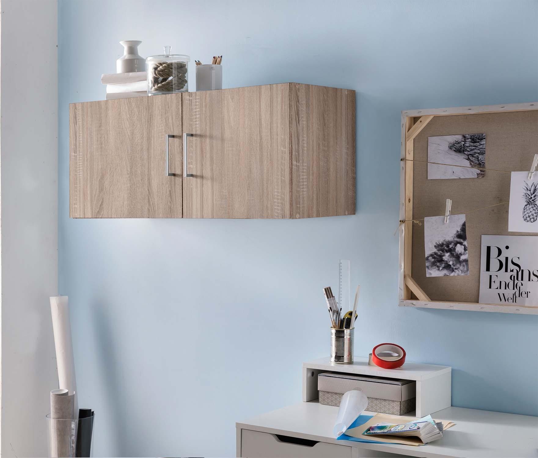 Hängeschrank Mod.W100 Sonoma-Eiche - H&C Möbel
