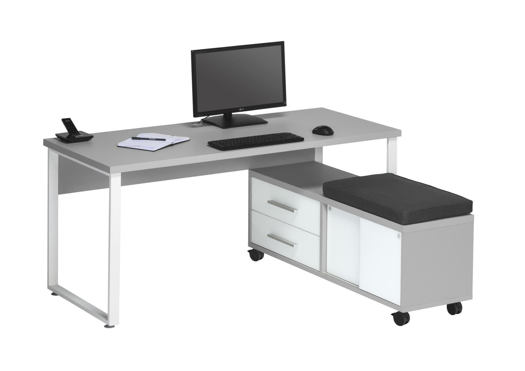 Sympathisch Schreibtisch Mit Rollcontainer Das Beste Von 16735563 + 16746346.jpg