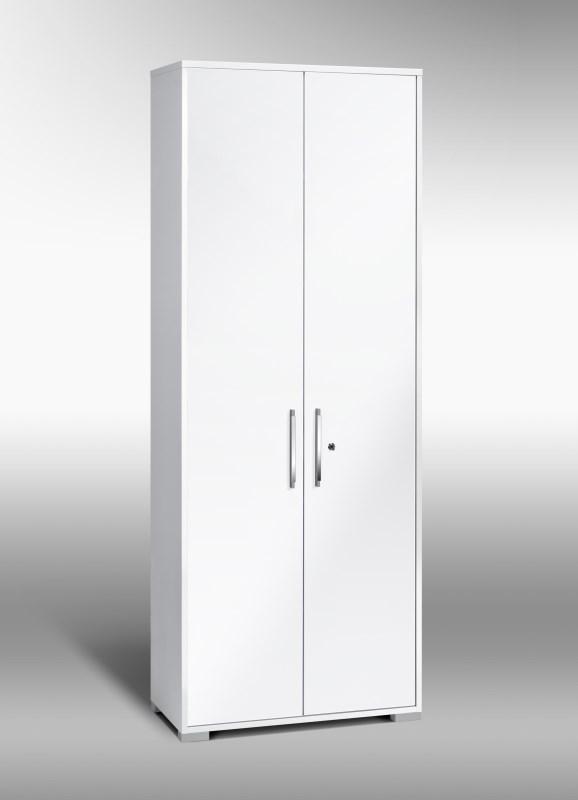 Aktenschrank Mod.MJ417 Icy Weiß - Weiß Hochglanz - H&C Möbel