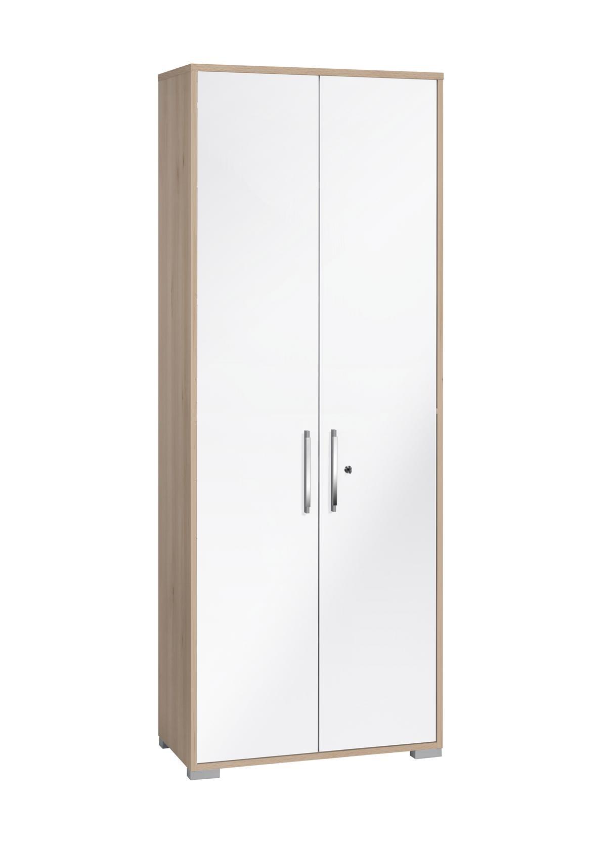 Aktenschrank weiß hochglanz  Aktenschrank Mod.MJ564 Edelbuche - Weiß Hochglanz