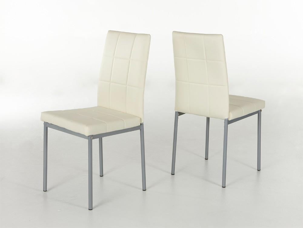 4x Küchenstühle Mod.SO133 Beige - H&C Möbel