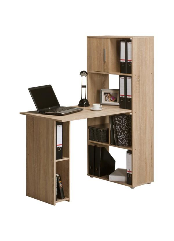 b rokombination schreibtisch mit aktenregal mod t121 se. Black Bedroom Furniture Sets. Home Design Ideas