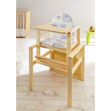 Baby Hochstuhl Mod.816009 Kiefer Natur