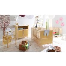 Babyzimmer 4-teilig Mod.836243 Kiefer Natur